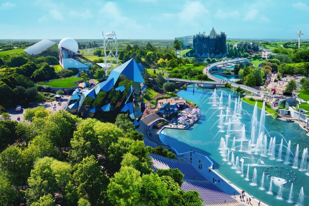 Le parc d'attraction du Futuroscope