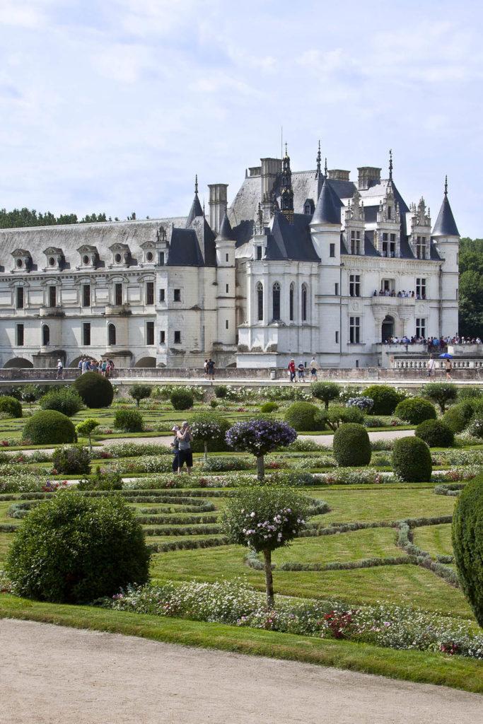 ©Dominique Couineau - Vue depuis le jardin de Diane de Poitiers