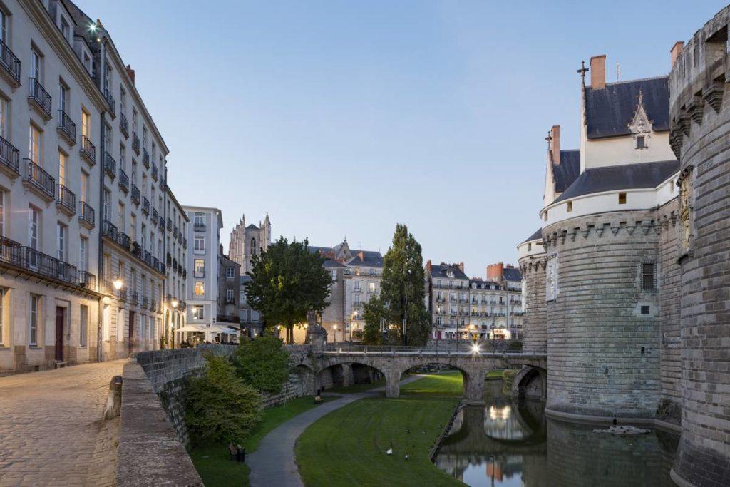 remparts chateau nantes