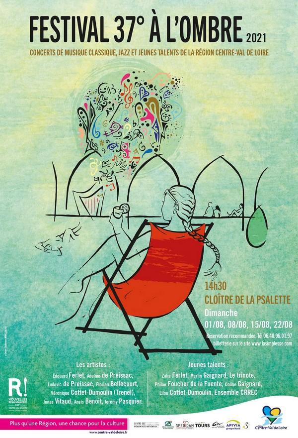 festival 37 degres a lombre affiche tours